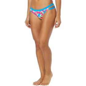 TYR Le Reve Cove Bas de bikini Femme, pink/turquoise